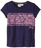 Roxy Kids Border Tee (Little Kids/Big Kids)