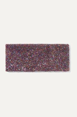 Bella Freud Teeny Bopper Metallic Knitted Headband - Pink