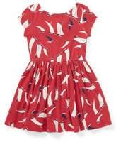 Ralph Lauren Little Girl's Nautical Twist-Back Dress