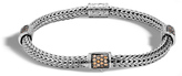 John Hardy Women's Classic Chain 5MM Bracelet in Sterling Silver with Red Spinel