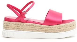 Miu Miu Platform Sandals