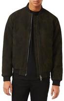 Topman Men's Camo Bomber Jacket