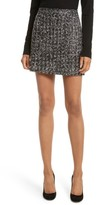 Milly Women's Modern Tweed Miniskirt