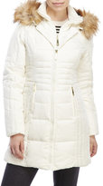 Vince Camuto Linear Quilted Down Coat