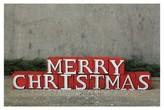 Nobrand No Brand Merry Christmas Wooden Blocks Decor