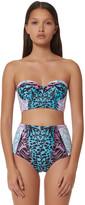 Mara Hoffman Lace Up Bustier Bikini Top