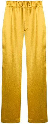 Jejia Wide-Leg High Rise Trousers
