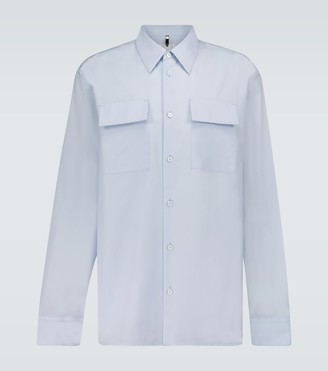 Oamc Officer boxy-fit cotton shirt