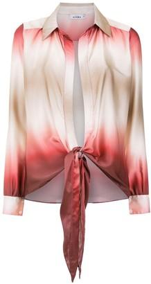 AMIR SLAMA Gradient Silk Shirt