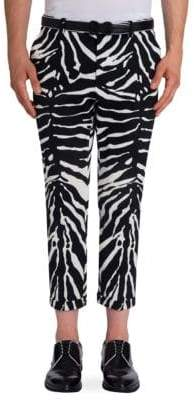 Dolce & Gabbana Zebra Printed Regular Pants