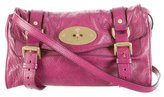 Mulberry Leather Buckle Crossbody