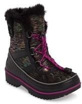 Sorel Toddler Girl's Tivoli Ii Waterproof Snow Boot With Faux-Fur Cuff