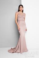 Terani Evening - Elegant Sleeveless Bateau Neckline Polyester Mermaid Gown 1712E3264