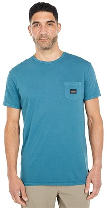 Quiksilver Sub Mission Short Sleeve II (Blue Coral) Men's Clothing