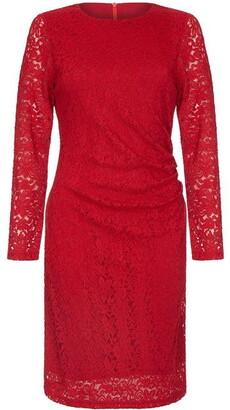Yumi London Lace Ruched Dress