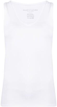 Majestic Filatures V-neck vest top