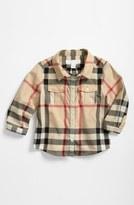 Burberry Check Print Shirt (Toddler Boys)