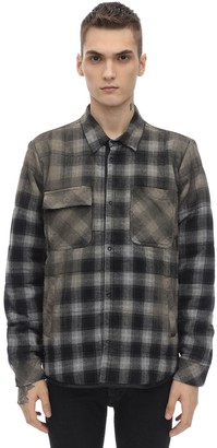 Giorgio Brato Oversize Cotton Blend Shirt Jacket