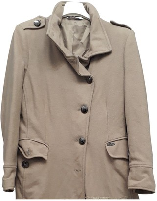 Liu Jo Liu.jo Beige Synthetic Coats