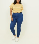 New Look Curves Mid Wash Jeggings