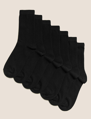 Marks and Spencer 7pk of Ankle School Socks