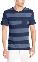 Lee Men's Big-Tall Extended Sizes Texture Pocket T-Shirt