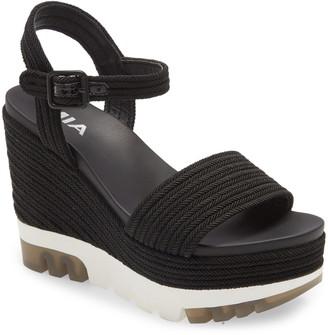 Mia Nakita Platform Wedge Sandal