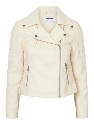 Noisy May Women's 27000695 Faux Leather Jacket