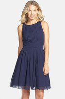 Ted Baker Women's 'Saphira' Tiered Pleat A-Line Dress