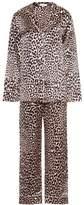 Olivia von Halle Lila printed silk pyjama set