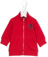 Diesel Samab track jacket - kids - Cotton - 6 mth