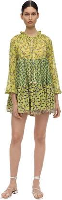 Yvonne S Cotton Voile Mini Dress