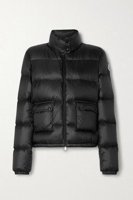 Moncler Lannic Quilted Shell Down Jacket - Black