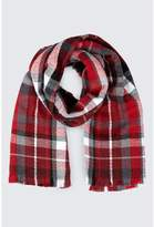 Select Fashion CHECK SCARF - size One