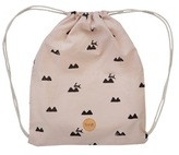 ferm LIVING Rabbit Print Gym Bag
