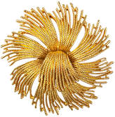Susan Caplan Vintage Monet Gold Plated Starburst Brooch, Gold