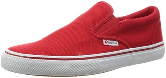 Superga Unisex Adults S009N90 Loafers Red Size: 2
