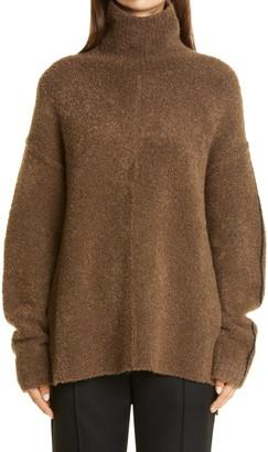 Peter Do Oversize Camel Hair & Wool Blend Sweater