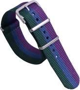 AUTULET Premium Unique Multicolor NATO Style Sturdy Soft Nylon Men's Wrist Watch Band