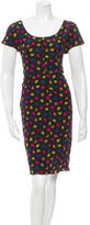 Prada Silk Polka Dot Dress