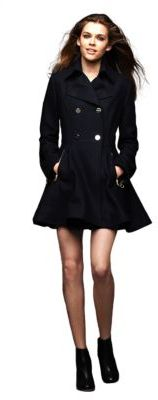 Laundry by Shelli Segal A-line Coat