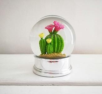 Inle Home - Cactus Snow Globe