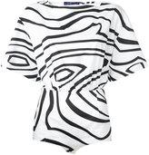 Emilio Pucci printed bodysuit - women - Cotton - 38