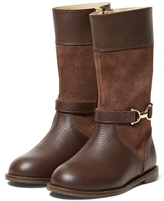 Girls Riding Boots Brown   Shop the