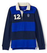 Classic Toddler Boys Pieced Rugby-Cobalt Blue