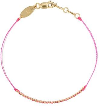 Redline 18kt yellow gold Eclipse thread bracelet