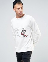 Cheap Monday Rules Sweat Hot Skull