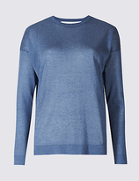 Limited Edition Open Back Round Neck Jumper