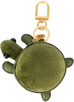 Tory Burch Turtle Burch coin pouch key fob