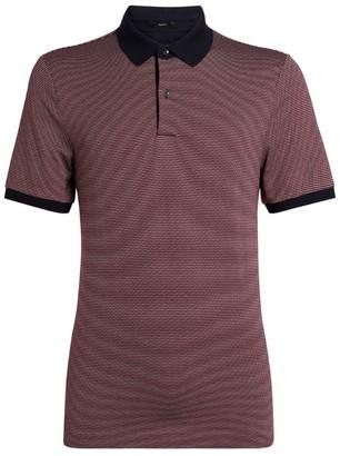 HUGO BOSS Birdseye Polo Shirt